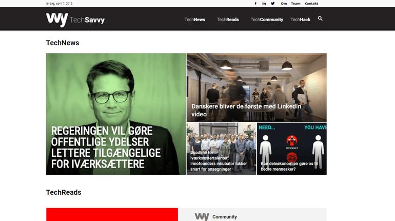 Nyt dansk startup medie