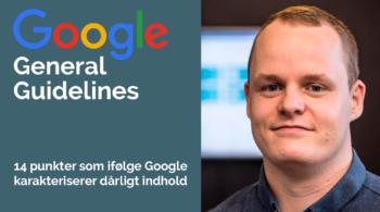 gæsteindlæg: Google general guidelines ved simon elkjær fra nutimo consult