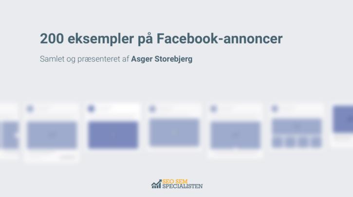 200 facebook annonce eksempler