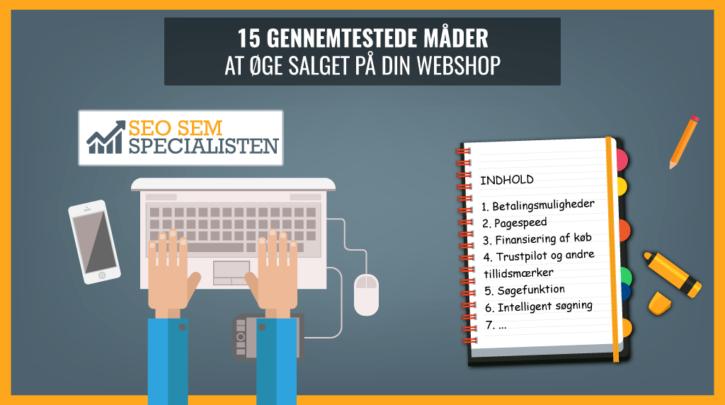 15 metoder til øget salg på webshop